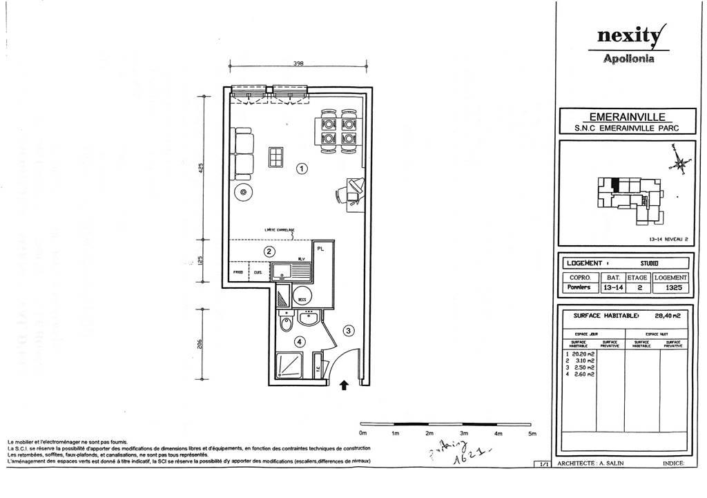 EMERAINVILLE – Appartement