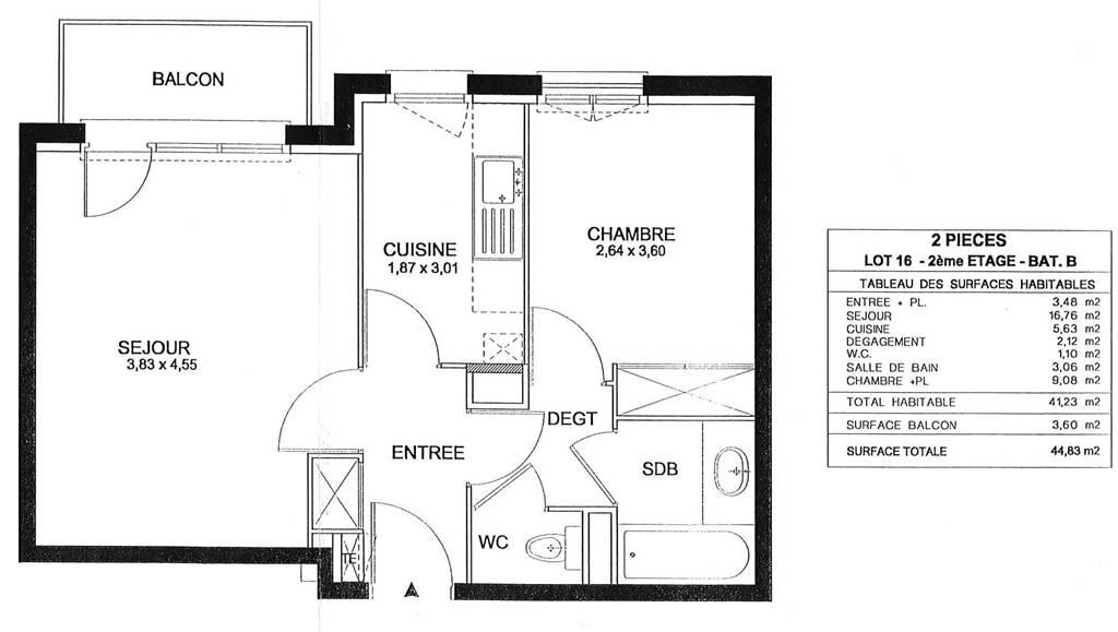LIMEIL – Appartement