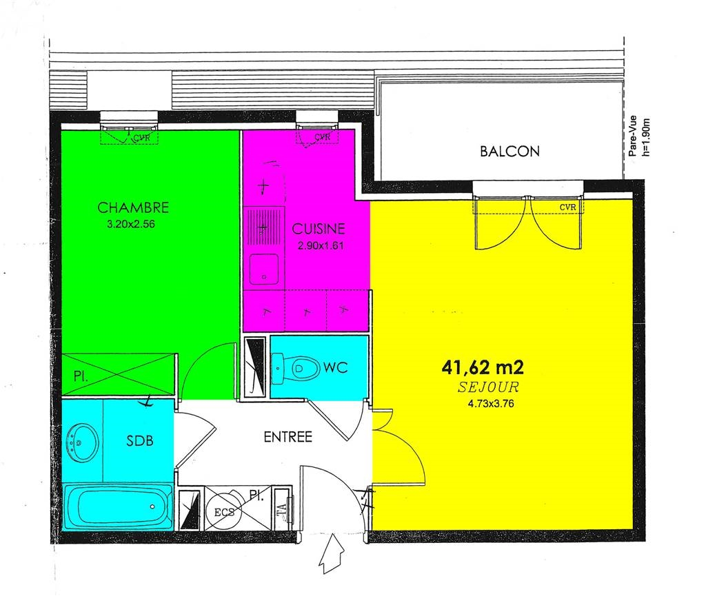 VILLIERS-SUR-MARNE – Appartement
