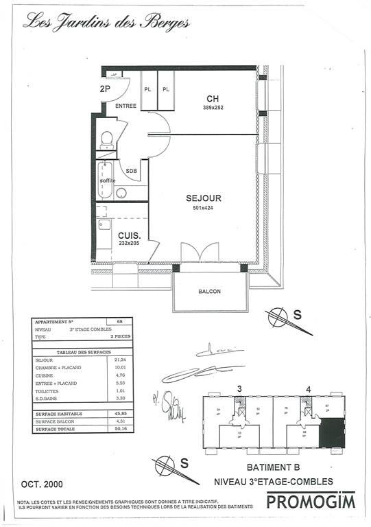 YERRES – Appartement