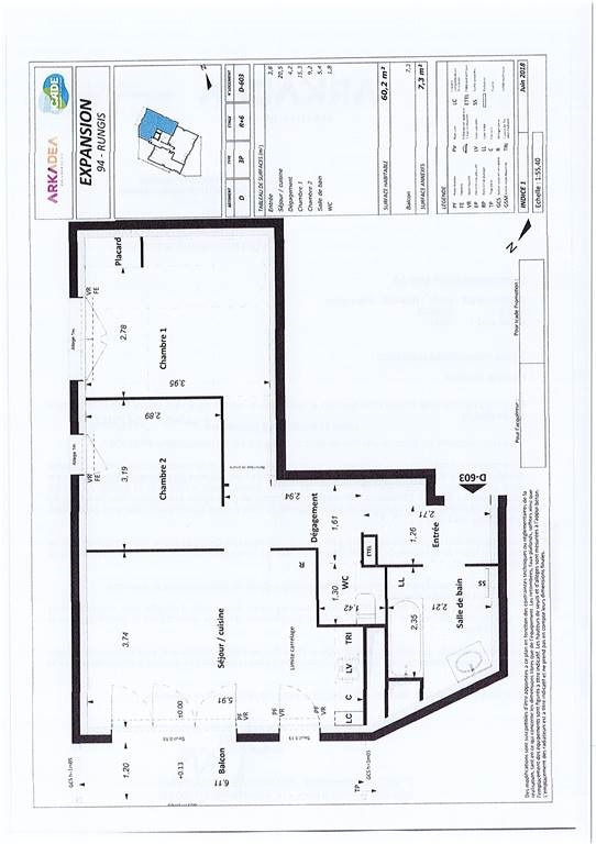 RUNGIS – Appartement