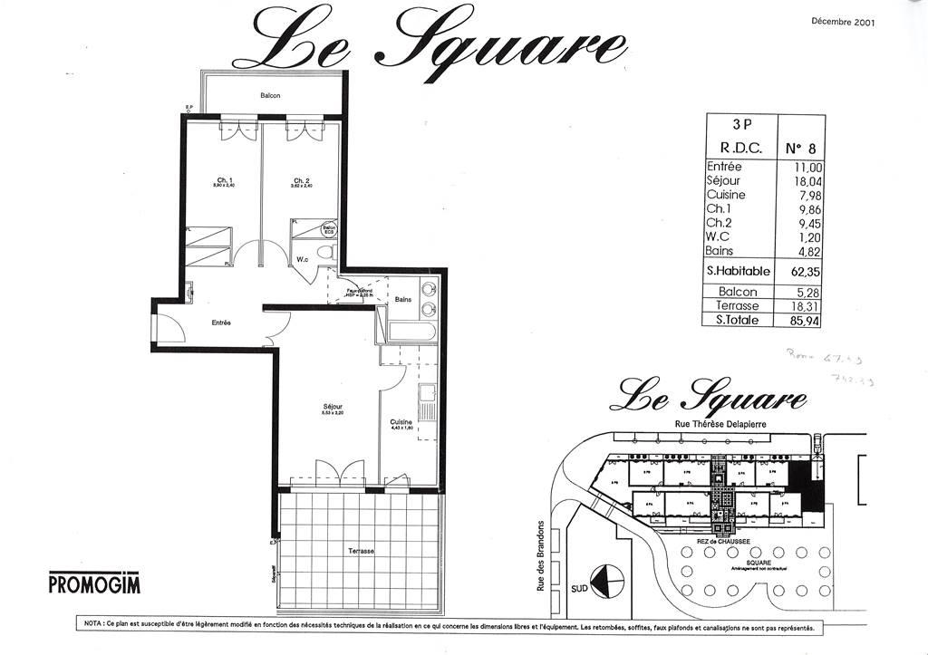 COMBS-LA-VILLE – Appartement